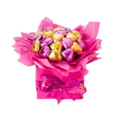 Pink and Gold Box of Hearts